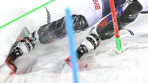 Ski alpin: Ex-Aequo-Führung im zweiten Levi-Slalom
