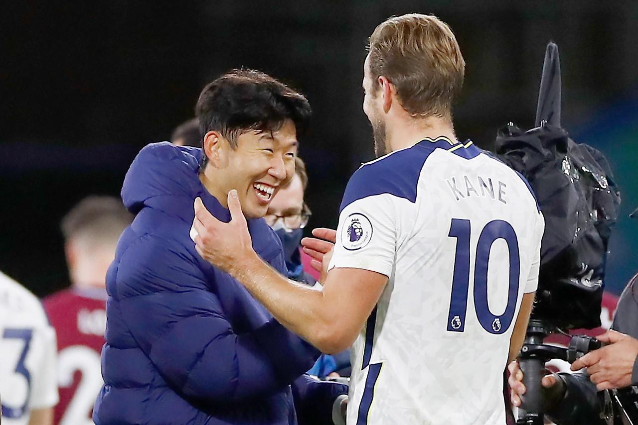 Saluti da Son Heung-min e Harry Kane (Tottenham Hotspur)