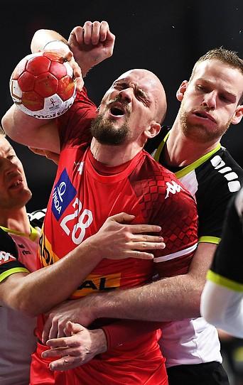 Szene aus dem Match Österreich gegen Schweiz