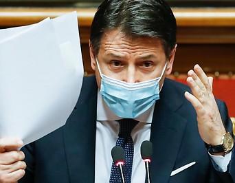 Der italienische Ministerpräsident Giuseppe Conte