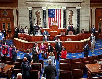 Senatsplenum in Washington