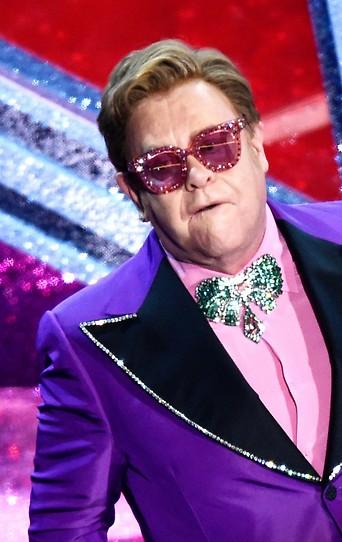 Der britische Musiker Elton John