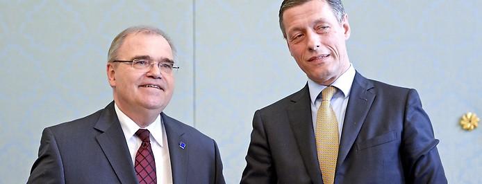 Justizsektionschef Christian Pilnacek und Verfassungsrichter Wolfgang Brandstetter