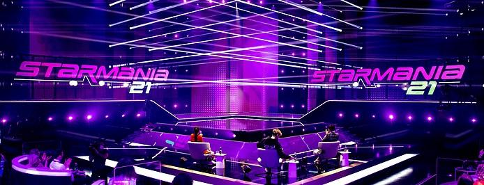 Bühne von Starmania 2021