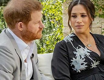 Prinz Harry, Meghan und Oprah Winfrey