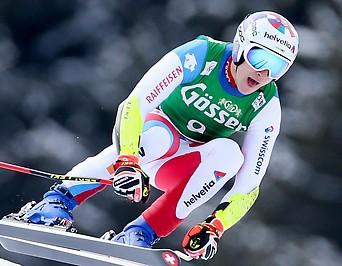 Der schweizer Skifahrer Marco Odermatt.