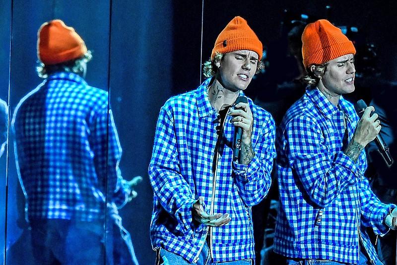 La estrella del pop Justin Bieber