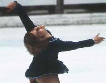Beatrix Schuba in Sapporo 1972