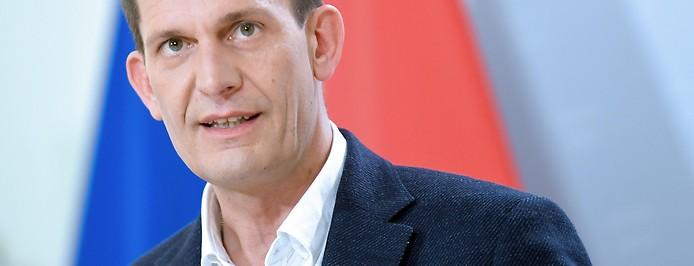 Der designierte Gesundheitsminister Wolfgang Mückstein