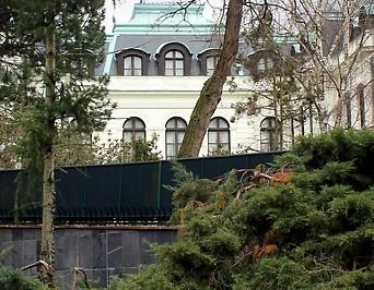 Die Russische Botschaft in Prag