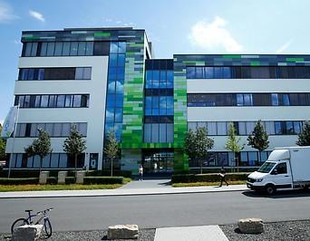 Die Biontech Zentrale in Mainz