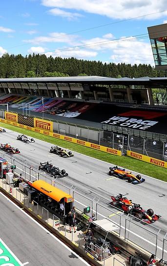 Szene vom Grand Prix der Steiermark.