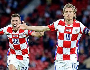 Jubelnde Kroaten