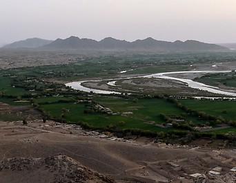 Von den Taliban kontrollierte Gegend in Afghanistan