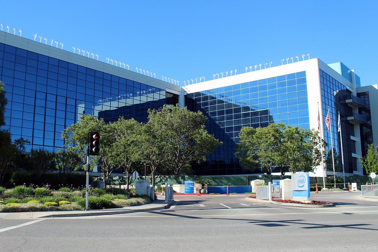Intel-Hauptquartier in Santa Clara, Kalifornien