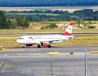 Flugzeuge am Flughafen Wien Schwechat