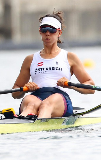 Die österreichische Ruderin Magdalena Lobnig