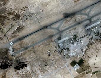 Flughafen Kandahar in Afghanistan