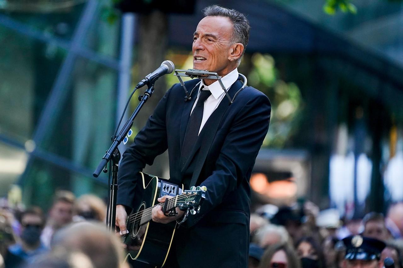 Musiker Bruce Springsteen bei den Feierlichkeiten zu den Terroranschlägen vor 20 Jahren