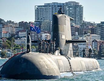 """Ein U Boot der """"Royal Australian Navy"""""""