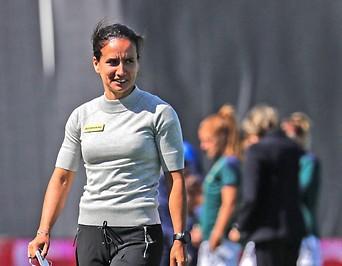 Coach Irene Fuhrmann