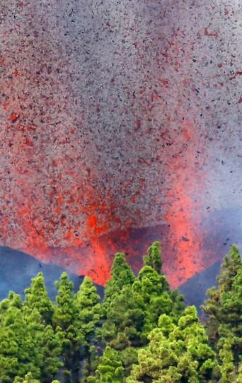 Vulkan Cumbre Vieja auf La Palma