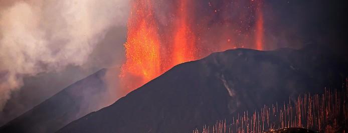 Eruption des Vulkans auf La Palma