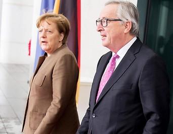 Angela Merkel und Jean-Claude Juncker