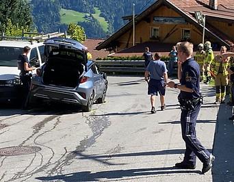 Unfallstelle auf dem Hochschwendberg