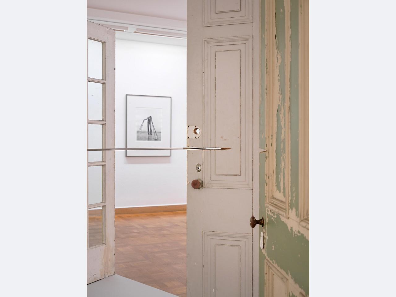 Installation view Rebecca Horn, Bank Austria Kunstforum 2021.