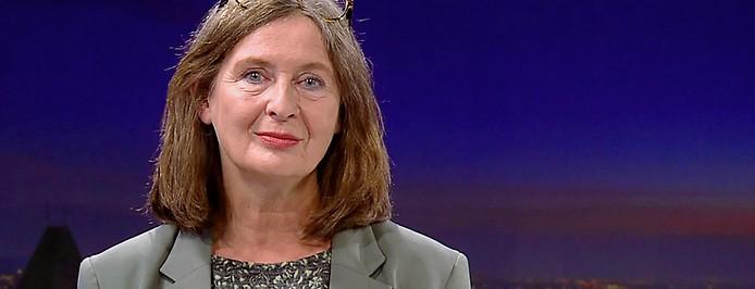 Die Grazer KPÖ-Spitzenkandidatin Elke Kahr
