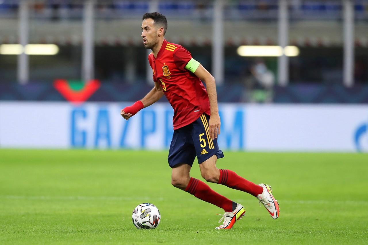 Il calciatore spagnolo Sergio Busquets