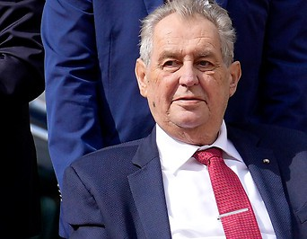 Der tschechische Staatspräsident Milos Zeman