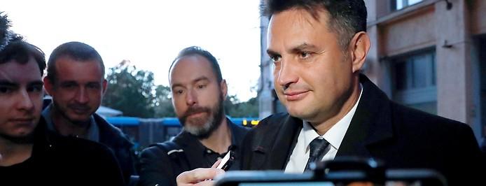 Der ungarische Kandidat der Opposition, Peter Marki-Zay