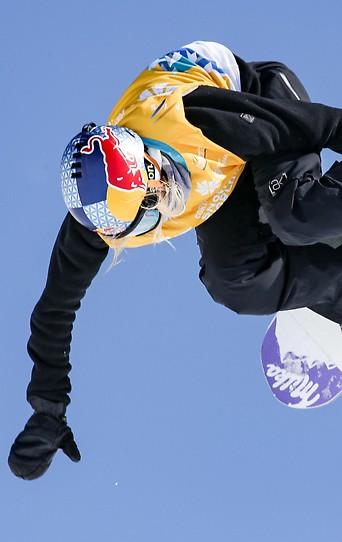 Snowboarderin Anna Gasser