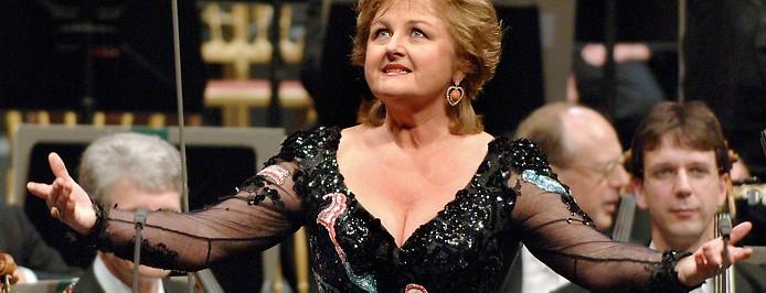 Die slowakische Sopranistin Edita Gruberova