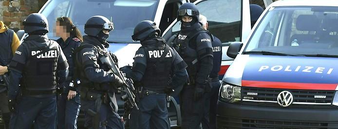 Polizeieinsatz in Siegendorfer Puszta (Bezirk Eisenstadt-Umgebung)